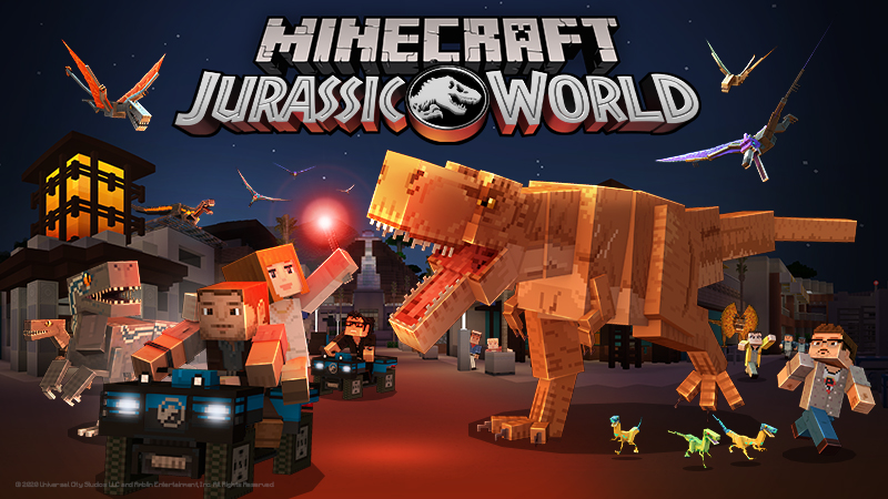 Jurassic World on the Minecraft Marketplace by Minecraft