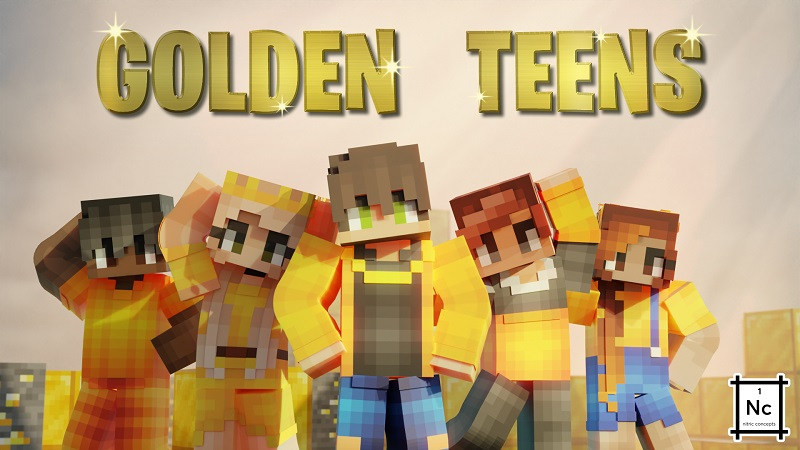 Golden Teens on the Minecraft Marketplace by Nitric Concepts