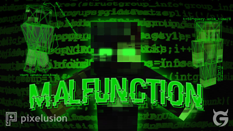 Malfunction on the Minecraft Marketplace by Pixelusion