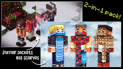Puffer Jackets  Big Scarves on the Minecraft Marketplace by 57Digital