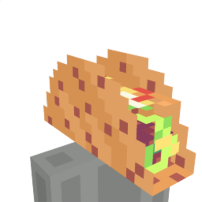 Taco Head on the Minecraft Marketplace by King Cube