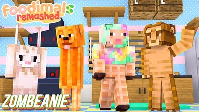 Foodimals Remashed on the Minecraft Marketplace by Zombeanie