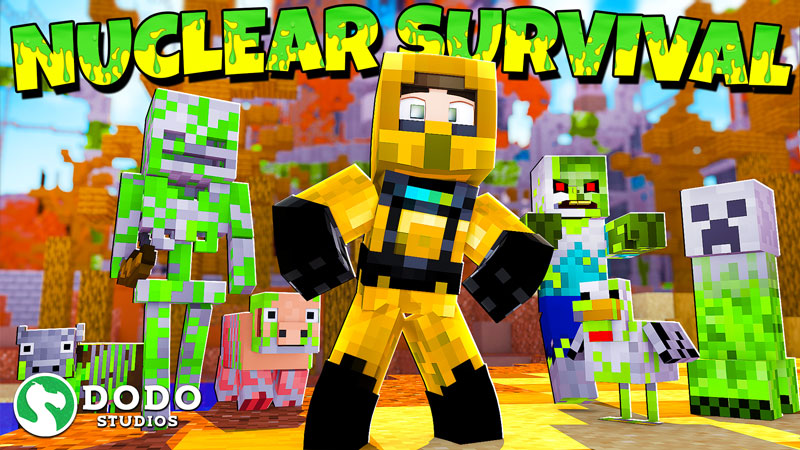 Nuclear Survival on the Minecraft Marketplace by Dodo Studios