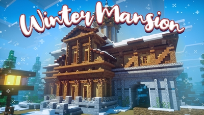 Winter Mansion on the Minecraft Marketplace by Chunklabs