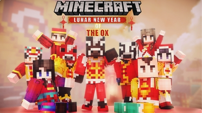 Lunar New Year of the Ox on the Minecraft Marketplace by NetEase