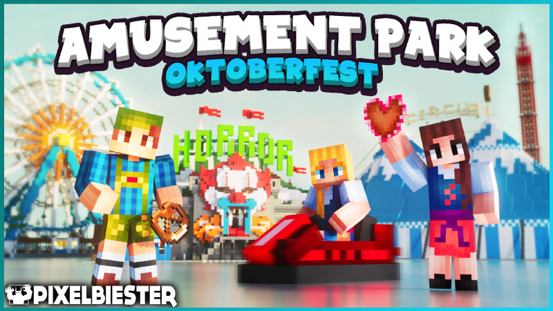 Amusement Park  Oktoberfest on the Minecraft Marketplace by Pixelbiester
