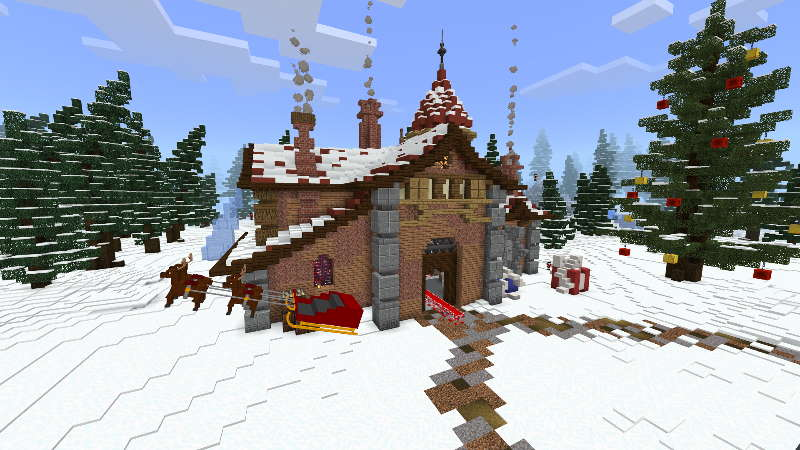 Santa Claus's Factory on the Minecraft Marketplace by RareLoot