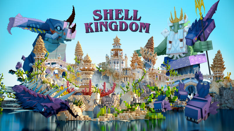 Shell Kingdom on the Minecraft Marketplace by BLOCKLAB Studios