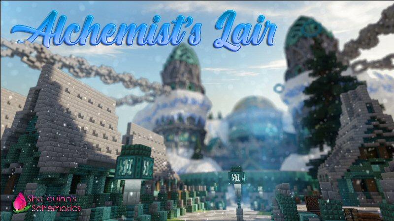 Alchemists Lair on the Minecraft Marketplace by Shaliquinn's Schematics