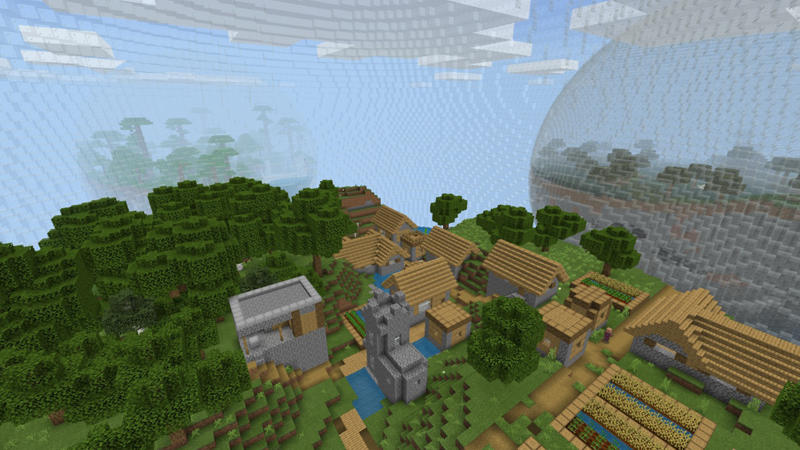 Biospheres on the Minecraft Marketplace by Pixelusion