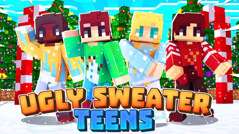Ugly Sweater Teens on the Minecraft Marketplace by Cynosia