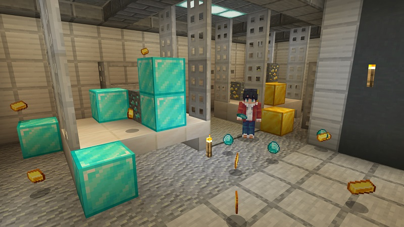 Secret Underground Base on the Minecraft Marketplace by BBB Studios
