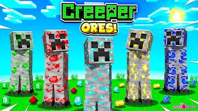 Creeper Ores on the Minecraft Marketplace by Razzleberries