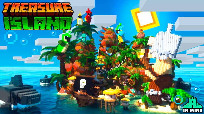 Treasure Island on the Minecraft Marketplace by In Mine