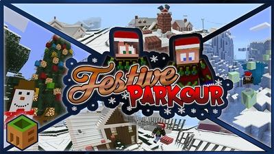Festive Parkour  on the Minecraft Marketplace by MobBlocks