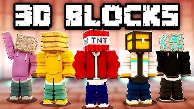 3D Blocks on the Minecraft Marketplace by KA Studios