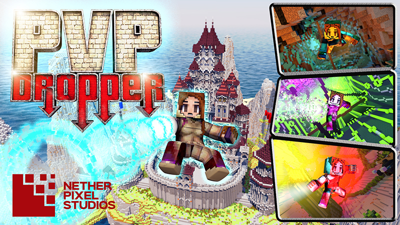 PVP Dropper on the Minecraft Marketplace by Netherpixel