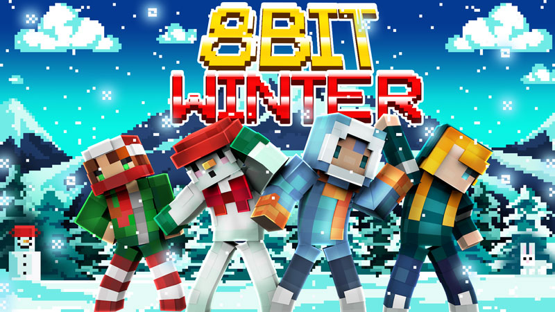 8Bit Winter on the Minecraft Marketplace by BBB Studios