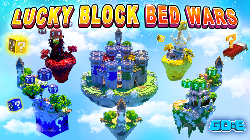 Lucky Block Bed Wars on the Minecraft Marketplace by GoE-Craft