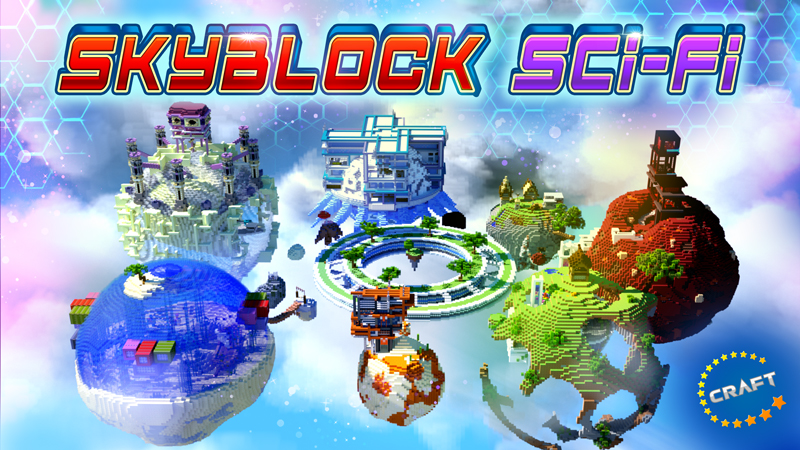 Skyblock SciFi on the Minecraft Marketplace by The Craft Stars
