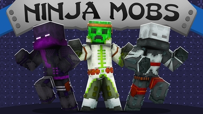 Ninja Mobs on the Minecraft Marketplace by The Lucky Petals