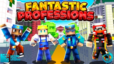 Fantastic Professions on the Minecraft Marketplace by Netherpixel