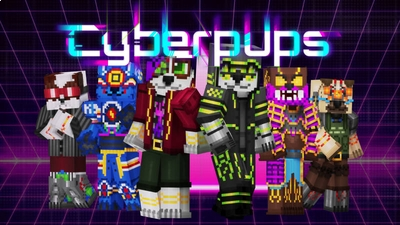 Cyberpups on the Minecraft Marketplace by BLOCKLAB Studios