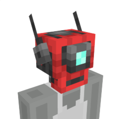 Robot Head on the Minecraft Marketplace by Odd Block