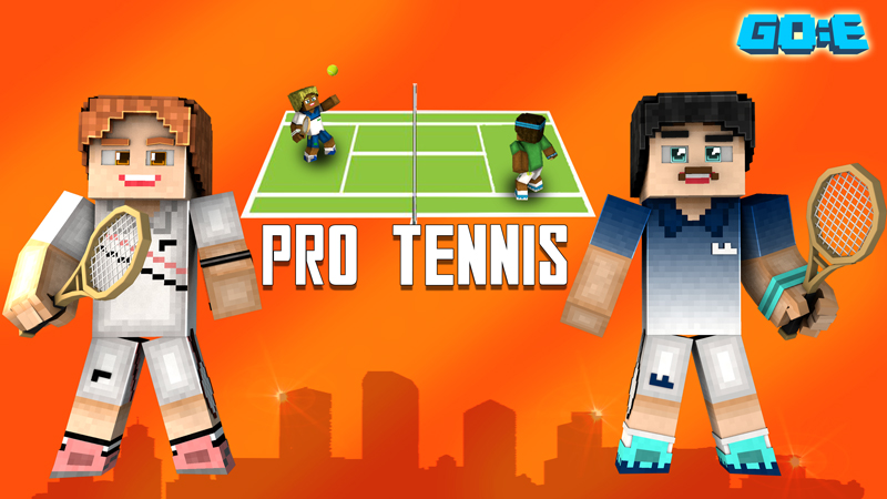 Pro Tennis on the Minecraft Marketplace by GoE-Craft