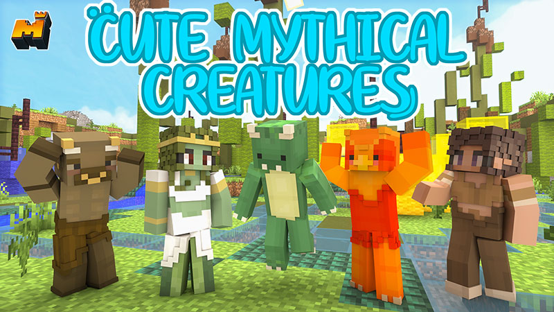 Cute Mythical Creatures on the Minecraft Marketplace by Mineplex