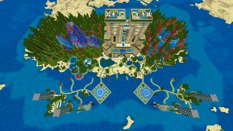 Luxury Resort by Shaliquinn's Schematics