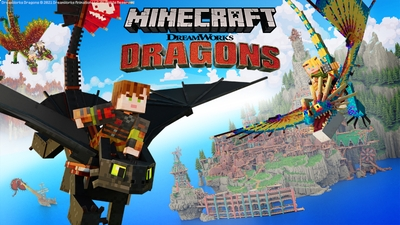 How to Train Your Dragon on the Minecraft Marketplace by Gamemode One