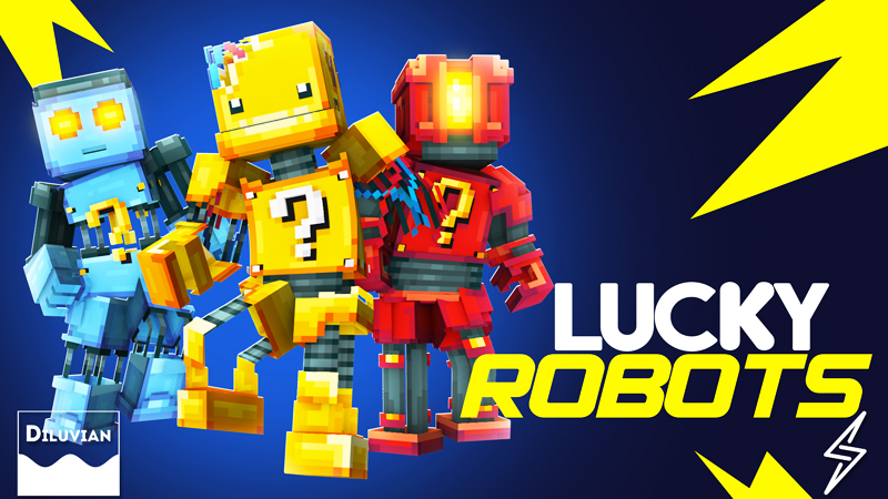Lucky Robots on the Minecraft Marketplace by Diluvian