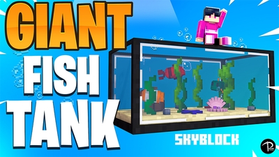 Giant Fish Tank Skyblock on the Minecraft Marketplace by Pickaxe Studios