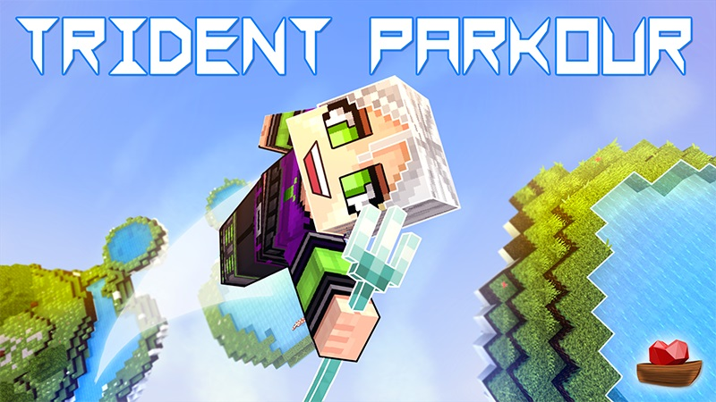 Trident Parkour on the Minecraft Marketplace by Lifeboat