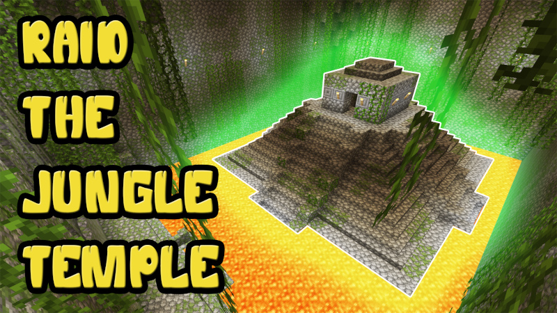 Raid the Jungle Temple on the Minecraft Marketplace by PixelOneUp