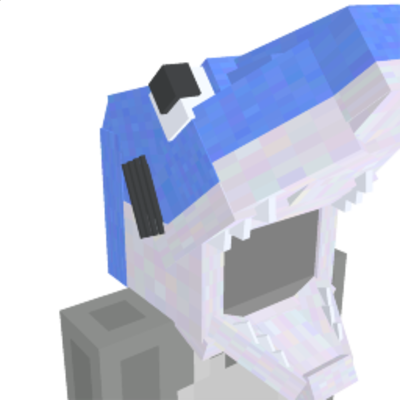 Shark Costume Hat on the Minecraft Marketplace by Lifeboat