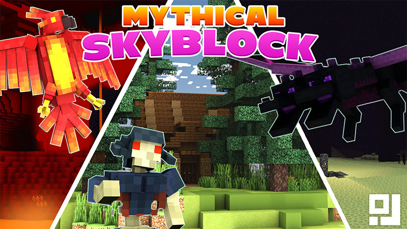 Mythical Skyblock on the Minecraft Marketplace by inPixel