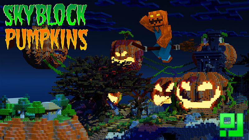 Skyblock Pumpkins on the Minecraft Marketplace by inPixel