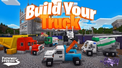 Build Your Truck on the Minecraft Marketplace by Pathway Studios