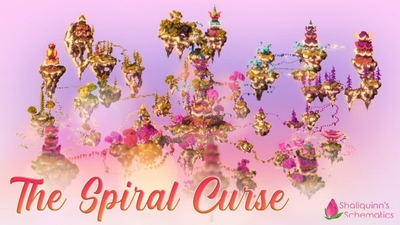 The Spiral Curse on the Minecraft Marketplace by Shaliquinn's Schematics