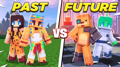 Past vs Future on the Minecraft Marketplace by Cynosia