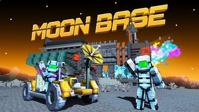 Moon Base on the Minecraft Marketplace by BBB Studios