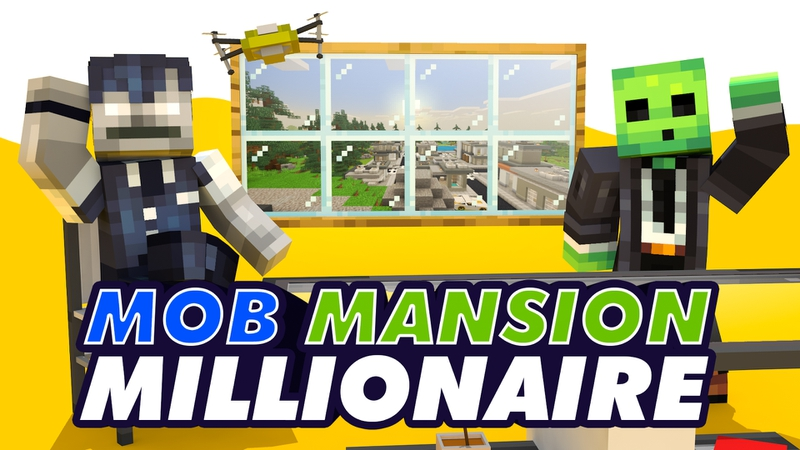 Mob Mansion Millionaire on the Minecraft Marketplace by Snail_Studios