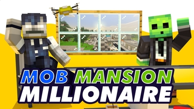 Mob Mansion Millionaire on the Minecraft Marketplace by Snail Studios