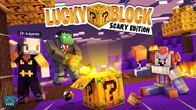 Lucky Block Scary Edition on the Minecraft Marketplace by Kubo Studios