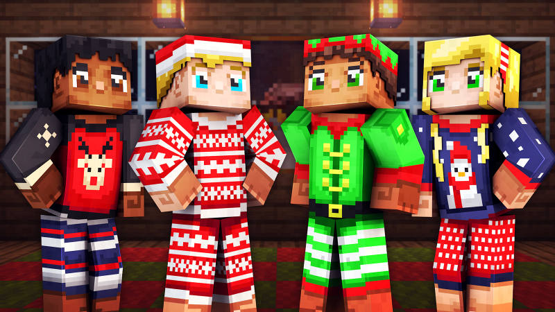 Festive PJs on the Minecraft Marketplace by 57Digital