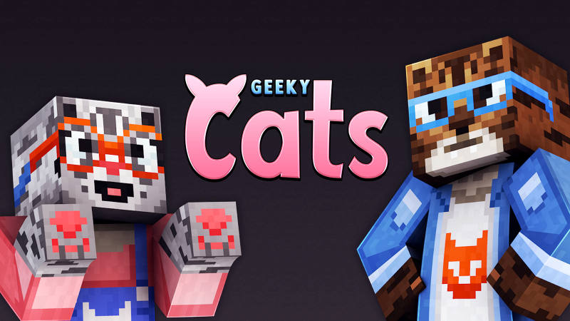 Geeky Cats on the Minecraft Marketplace by 57Digital