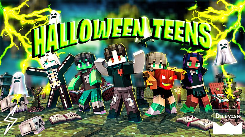Halloween Teens on the Minecraft Marketplace by Diluvian