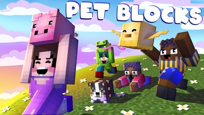 Pet Blocks on the Minecraft Marketplace by House of How
